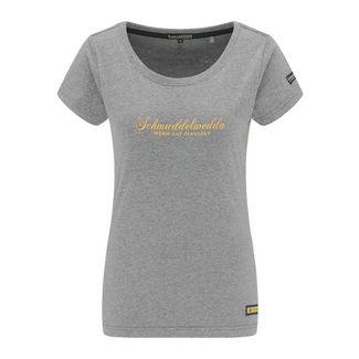 Schmuddelwedda T-Shirt Damen grau melange