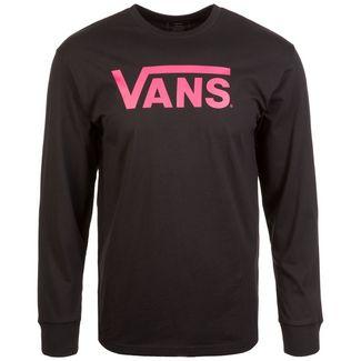 Vans Classic Langarmshirt Herren schwarz / pink