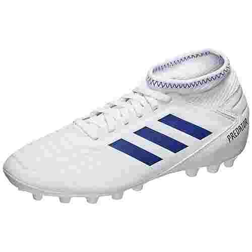 adidas Predator 19.3 AG Fußballschuhe Kinder weiß / blau