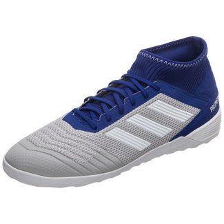 adidas Predator 19.3 Indoo Fußballschuhe Herren weiß / blau