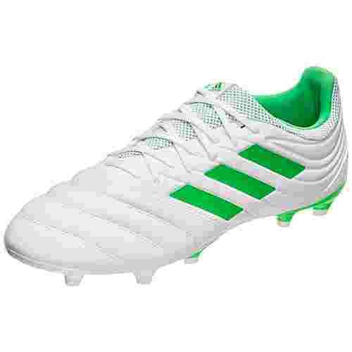 adidas Copa 19.3 Fußballschuhe Herren weiß / neongelb