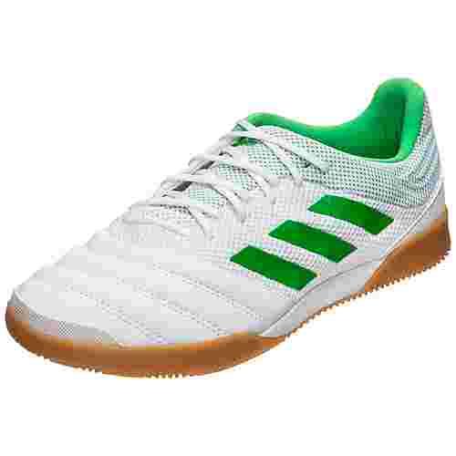 adidas Copa 19.3 Sala Indoor Fußballschuhe Herren weiß / neongrün