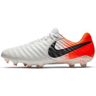 Nike TIEMPO LEGEND 7 ELITE FG Fußballschuhe white-black-hyper crimson