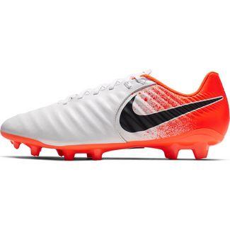 Nike TIEMPO LEGEND 7 ACADEMY FG Fußballschuhe white-black-hyper crimson