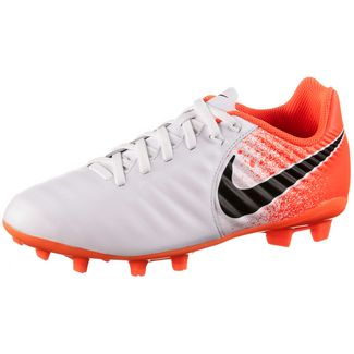 check out 67cb1 0825b Nike JR TIEMPO LEGEND 7 ACADEMY FG Fußballschuhe Kinder white-black-hyper  crimson