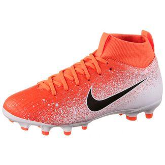 cf3cc7950 Nike JR MERCURIAL SUPERFLY 6 ACADEMY GS FG MG Fußballschuhe Kinder hyper  crimson-black