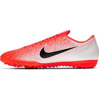 Nike MERCURIAL VAPOR 12 ACADEMY TF Fußballschuhe hyper crimson-black-white