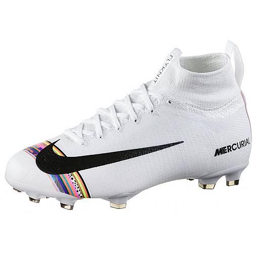 Nike JR MERCURIAL SUPERFLY 6 ELITE CR7 FG Fußballschuhe Kinder  white-black-pure platinum im Online Shop von SportScheck kaufen