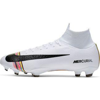 4623d712d995d8 Nike MERCURIAL SUPERFLY 6 PRO CR7 FG Fußballschuhe pure platinum-black-white