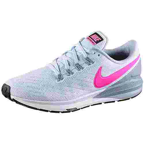 Nike Air Zoom Structure Laufschuhe Damen half blue-hyper pink-obsidian mist-black