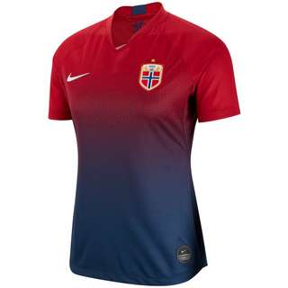 Nike Norwegen 2019 Heim Trikot Damen gym red-navy-white