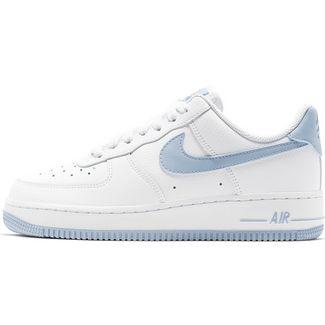 Nike Air Force 1 ´07 Sneaker Damen white-lt armory blue im Online ...