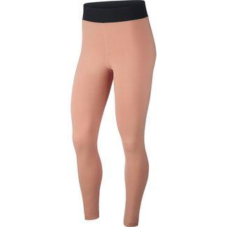 Nike NSW Leggings Damen rose gold-white