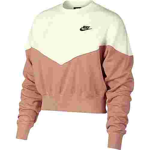 Nike NSW Sweatshirt Damen rose gold-sail-black