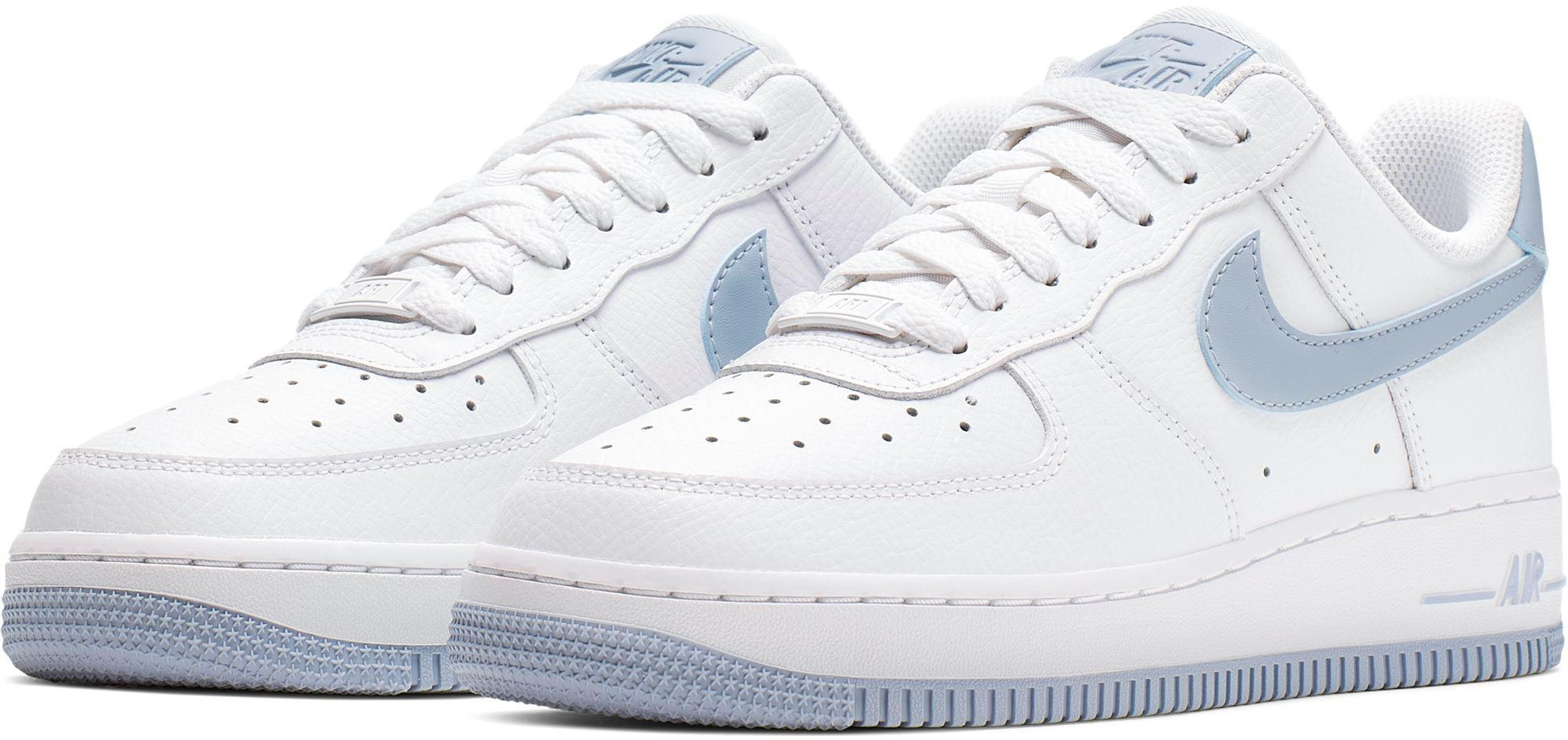 Nike Air Force 1 ´07 Sneaker Damen white lt armory blue im ...