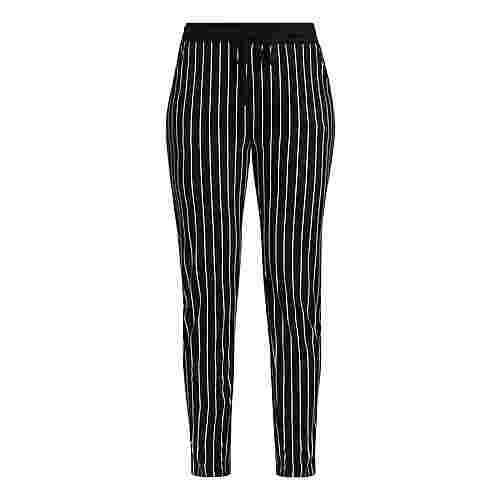 Buffalo Printhose Damen schwarz-weiß-gestreift
