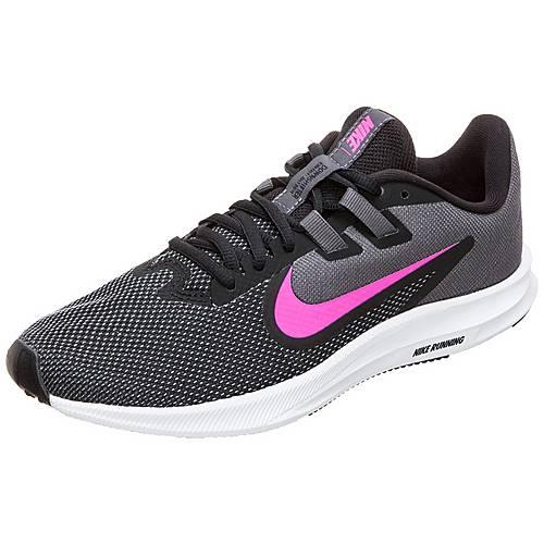 Nike Downshifter 9 Laufschuhe Damen schwarz / pink im Online Shop von SportScheck kaufen