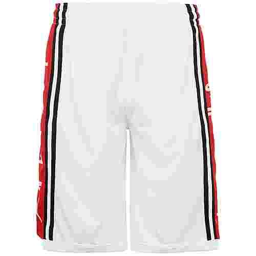Nike Jordan Basketball-Shorts Herren weiß / rot