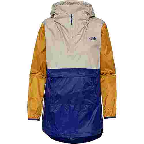 The North Face FANORAK 2.0 Windbreaker Damen aztec blue-peyote beige