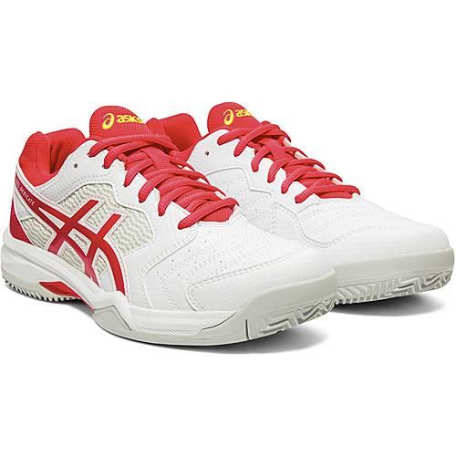 ASICS GEL DEDICATE 6 CLAY Tennisschuhe Damen white laser pink im Online Shop von SportScheck kaufen