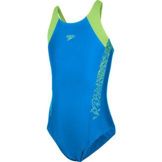 SPEEDO Boom Badeanzug Kinder brilliant-blue-bright-zest