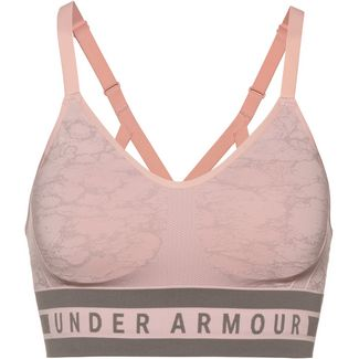 Under Armour Vanish Seamless Sport-BH Damen orange
