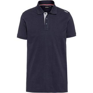 CMP Poloshirt Herren black blue