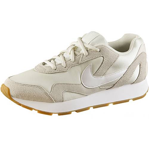 Nike Delfine Sneaker Damen pale ivory-white-gum light brown im ...