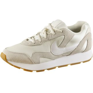 Nike Delfine Sneaker Damen pale ivory-white-gum light brown