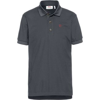 FJÄLLRÄVEN Crowley Pique Poloshirt Herren mountain grey