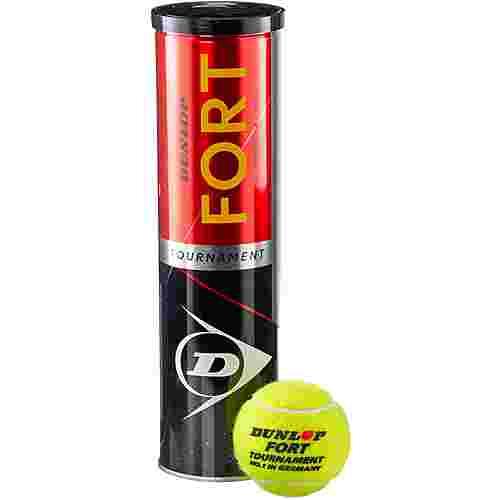 Dunlop FORT TOURNAMENT Tennisball gelb