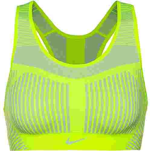 Nike Fenom Flyknit Sport-BH Damen volt-pure platinum