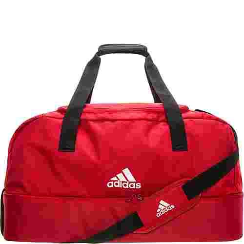 adidas Tiro Bottom Compartment Large Sporttasche rot / weiß