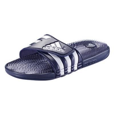 adidas Santiossage QD Sandalen blau/weiß