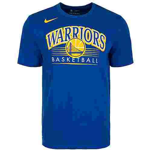 Nike Golden State Warriors Fanshirt Herren blau / gelb