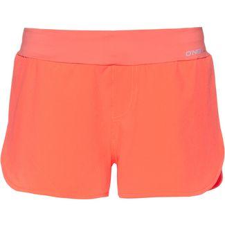 O'NEILL Essential Boardshorts Badeshorts Damen neon peach