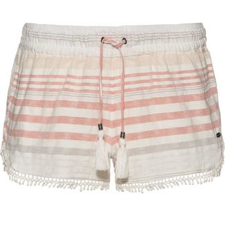O'NEILL Jacquard Lace Shorts Damen white aop with pink or purple