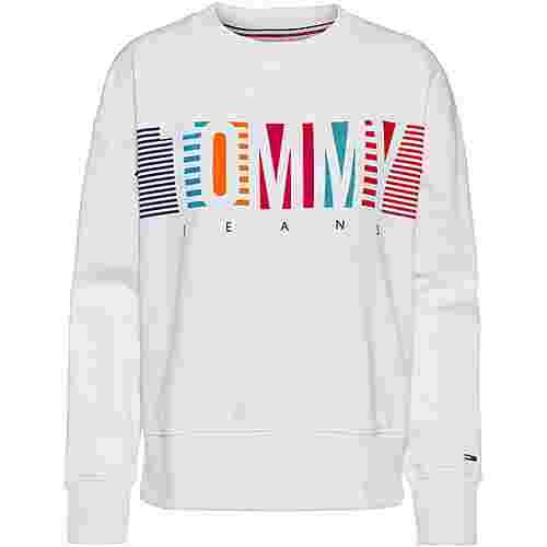 Tommy Jeans Sweatshirt Damen classic white