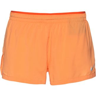 Nike Elevate Laufshorts Damen fuel orange-turf-orange