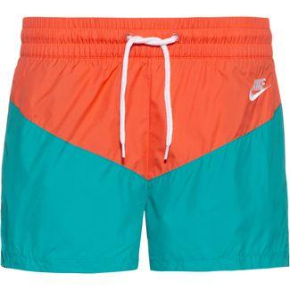 Nike NSW Shorts Damen cabana-turf-orange