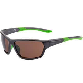 Maui Wowie Full RIM Sportbrille shiny anthacite-green
