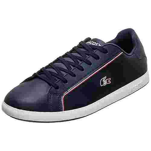 Lacoste Graduate Sneaker Herren dunkelblau / weiß