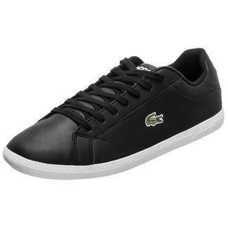 Lacoste Graduate Sneaker Herren schwarz / weiß