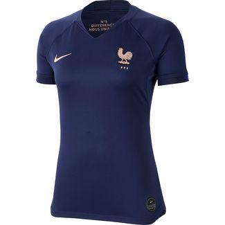 Nike Frankreich 2019 Heim Fußballtrikot Damen midnight navy