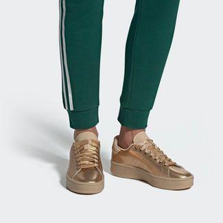 adidas Advantage Bold Schuh Sneaker Damen Copper Met. / Copper Met. / St Pale Nude