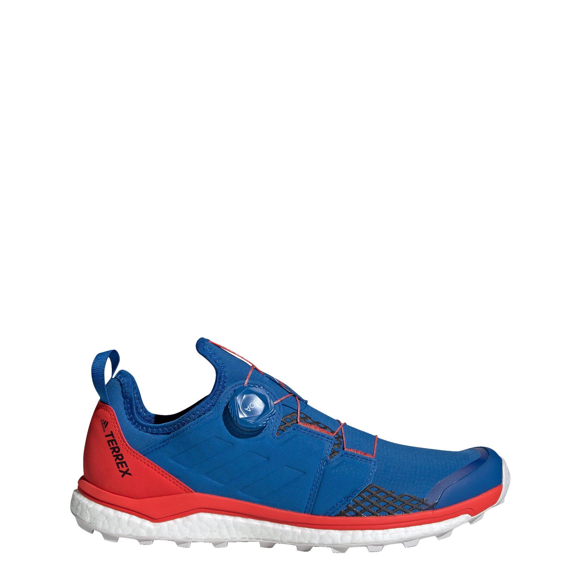 adidas TERREX Agravic Boa Schuh Wanderschuhe Herren Blue Beauty Core Black Active Red im Online Shop von SportScheck kaufen