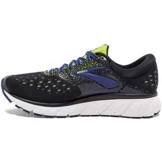 Brooks Glycerin 16 Laufschuhe Herren black-lime-blue