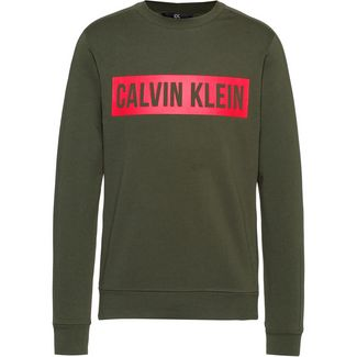 Calvin Klein Logo Sweatshirt Herren forest night