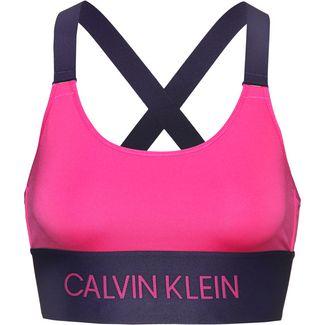 Calvin Klein Sport-BH Damen pink yarrow