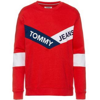 Tommy Jeans Sweatshirt Herren flame scarlet